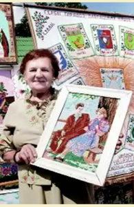 Лилия Радионовна Зарецкая — вышивальщица из Постав